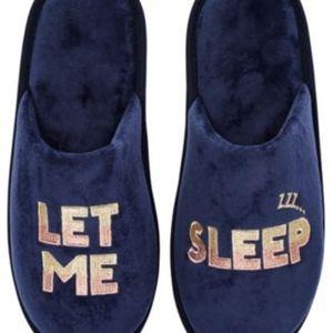 Jenni Let Me Sleep Slippers